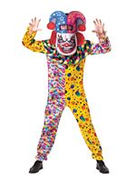 Adult Big Head Clown Costume