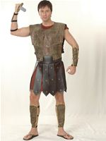 Adult Warrior Man Costume