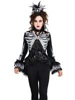 Adult Black and Bone Jacket [844973-55]