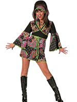 Adult Black Hippy Dress Costume