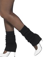 Adult Black Leg Warmers [45638]