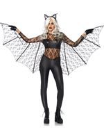 Adult Deluxe Black Magic Bat Costume [85540]