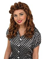 Adult Brown Vintage Wig