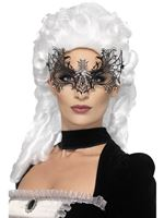 Adult Black Widow Web Eyemask