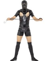 Adult Bondage Gimp Costume