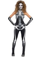 Adult Bone-a-Fied Babe Costume