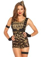 Adult Booty Camp Cutie Costume