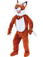 Adult Mr Fox Big Head Costume