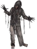 Adult Burnt Zombie Costume [1111B]