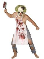 Adult Butcher Clown Costume