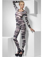 Adult Camouflage Bodysuit [26818]