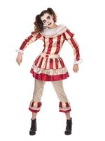 Adult Carnevil Clown Female Costume
