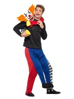Adult Lift Me Up Kidnap Clown Costume [40330]