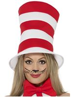 Adult Cat in the Hat Top Hat
