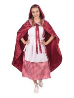 Adult Classic Red Riding Hood Costume [AF172]