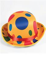 Adult Clown Bowler Hat [X74469]