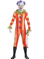 Teen Clown Party Suit Costume