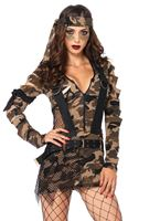 Adult Combat Babe Costume