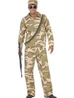 Adult Commando Army Costume [41036]