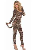 Adult Cougar Catsuit Costume