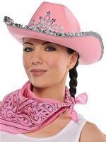Adult Cowgirl Rhinestone Hat [390153-55]