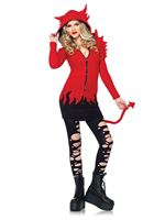 Adult Cozy Devil Costume [85310]