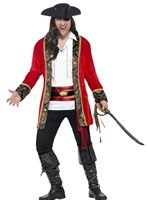 Adult Plus Size Pirate Captain Costume