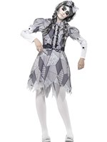 Adult Damaged Doll Costume