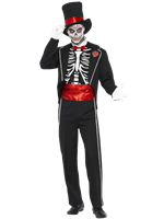 Adult Day of the Dead Costume [21565]