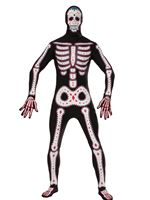 Adult Day of the Dead Disappearing Man Costume [AC609]