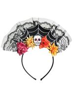 Adult Day of the Dead Headband
