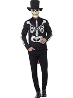Adult Day of the Dead Senor Skeleton Costume