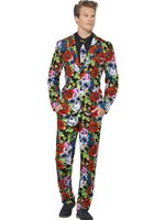 Adult Day of the Dead Stand Out Suit