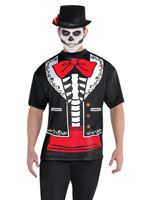 Adult Day of the Dead T-Shirt