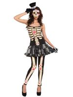 Adult Day of the Dead Tutu Dress Costume