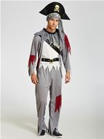 Adult Death Pirate Costume