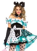 Adult Delightful Alice Costume [85510]