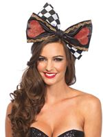 Adult Deluxe Alice Oversized Bow [A2749]