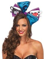 Adult Deluxe Alice Oversized Bow [A2753]