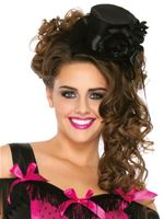 Adult Deluxe Black Satin Top Hat
