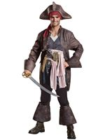 Adult Deluxe Captain Jack Sparrow Costume