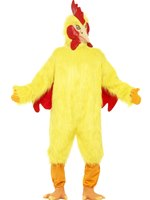 Adult Deluxe Chicken Costume [25503]
