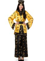 Adult Deluxe Chinese Lady Costume