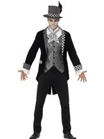Adult Deluxe Dark Hatter Costume