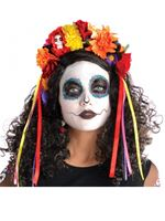 Adult Deluxe Day of the Dead Headband [843936-55]