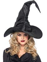 Adult Deluxe Large Ruched Witch Hat