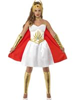 Adult Deluxe Latex She-Ra Costume