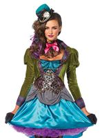Adult Deluxe Mad Hatter Costume [85505]