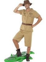 Adult Safari Man Costume