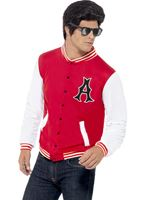 Adult 50s College Jock Jacket [43705]
